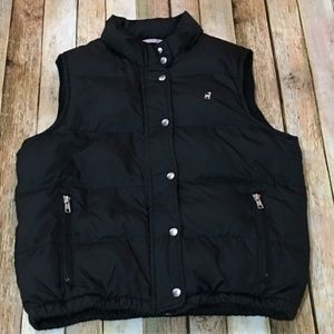 Old Navy Puffer Vest – Black- Size Small